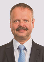 Wulf Gallert Vizepräsident des Landtages von Sachsen-Anhalt