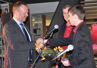 12.Alexander Kiel bedankt sich beim Schirmherr Wulff Gallert und dem Vertreter von Avacon, Herrn Klaus Schmekies, der gemeinsam mit der Stadt Möckern Kulturprojekte fördert