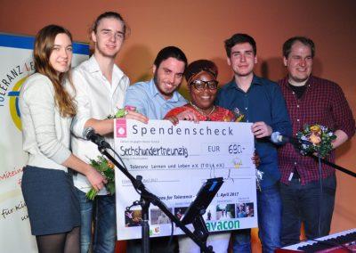 16.Beide Konzerte brachten einen Spendengewinn von 690€