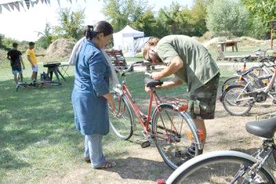 Fahrradpicknick