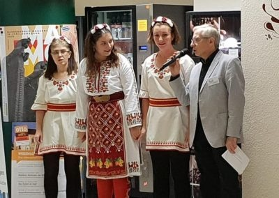 Bulgarische Tanzgruppe